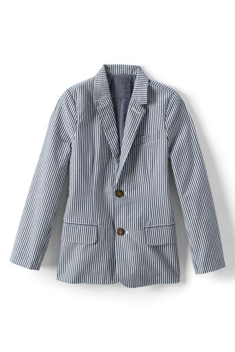 Toddler Boys Seersucker Blazer