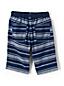 Toddler Boys' Chambray Stripe Beach Shorts