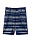 Toddler Boys' Chambray Stripe Beach Shorts