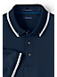 Men's Regular Textured Collar Supima® Polo