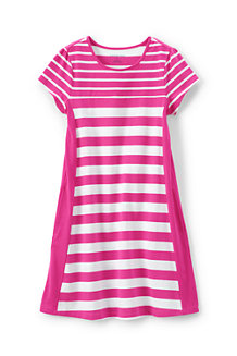 Girls' A-line Colourblock Dress