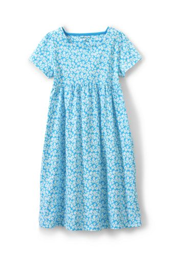 Little Girls' Square Neck Dress