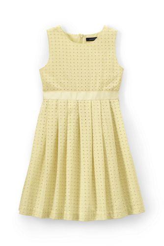 Kleid mit Lochspitze für kleine Mädchen