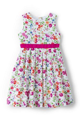 Little Girls' Floral Dress