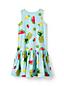 Little Girls' Sleeveless Drop Waist Dress