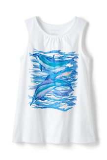 Girls' Graphic Vest Top