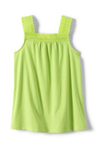 Little Girls' Lace Trim Vest Top