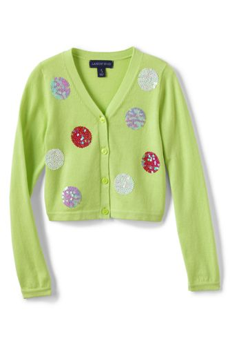 Little Girls' Shimmer Sophie Cardigan