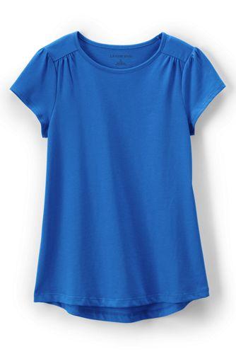 Shirt mit Raffungen für kleine Mädchen