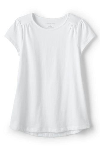 Little Girls' Gathered Shoulder T-Shirt