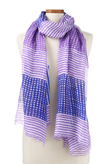 Women's Oversized Check Scarf