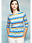 Women's Regular Boatneck Rib Top