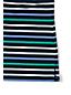 Le Haut Col Bateau Manches 3/4 Rayé, Femme Stature Standard