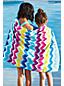 Kids' Graphic Velour Beach Towel