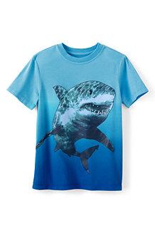 Grafik-Shirt mit Farbverlauf für  Jungen