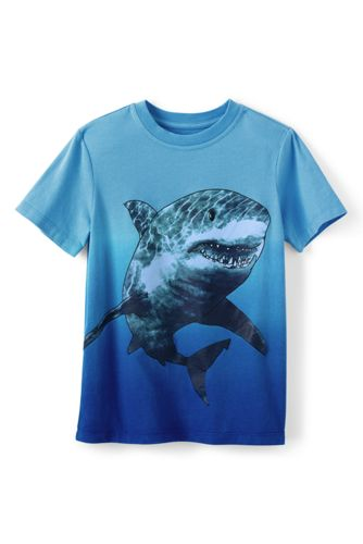 Little Boys' Short Sleeve Dip Dye Graphic Tee