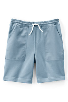 Boys' Woven-trim Sweat Shorts
