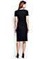 Women's Plus Ponte Jersey Tucked Wrap Dress