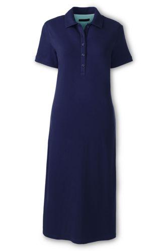 Women's Regular Piqué Polo Dress
