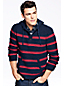 Men's Striped Cotton Hoodie Sweater