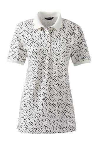 Gemustertes Piqué-Poloshirt