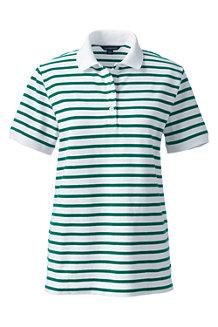 Gestreiftes Piqué-Poloshirt