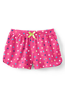 Girls' Patterned Pocket Shorts