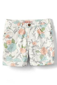 Gefärbte Denim-Midi-Shorts für Mädchen