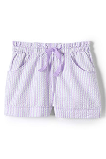 Girls' Seersucker Shorts