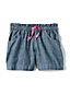 Toddler Girls' Chambray Shorts