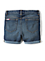 Little Girls' 5 Pocket Denim Midi Shorts