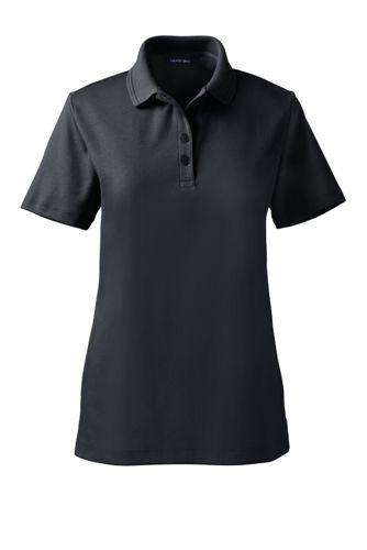 Women's Regular Detailed Collar Pima Polo