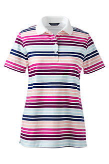 Women's Detailed Collar Pima Polo