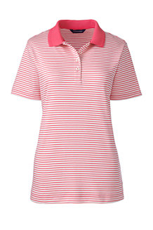 Women's Striped Detailed Collar Polo