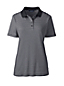 Women's Regular Striped Detailed Collar Polo