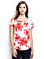 Gemustertes Slub-Jersey T-Shirt