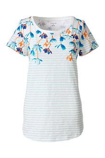 Hübsch geblümtes T-Shirt