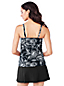 Shape & Enhance Gerafftes Tankini-Top Floral