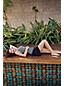 Le Tankini Amincissant au Drapé Croisé à Médaillons, Femme Stature Standard