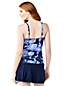 Shape & Enhance Tankini-Top mit gekreuztem V-Ausschnitt Floral