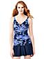 Women's Shape & Enhance Wrap Front Floral Print Tankini Top