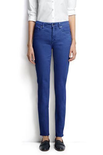 Women's Regular Mid Rise Slim Leg Coloured Jeans