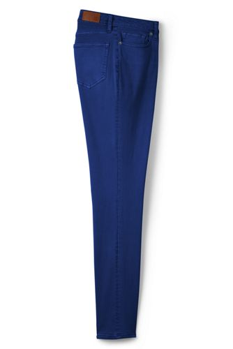 Women's Plus Mid Rise Slim Leg Coloured Jeans