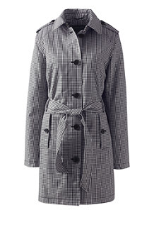 Women's Print Harbour Trench Coat