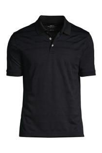Men's Custom Logo Short Sleeve Stripe Rapid Dry Polo Shirt