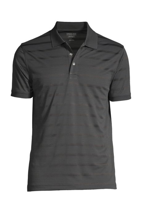 Men's Short Sleeve Rapid Dry Drop Needle Polo Shirt