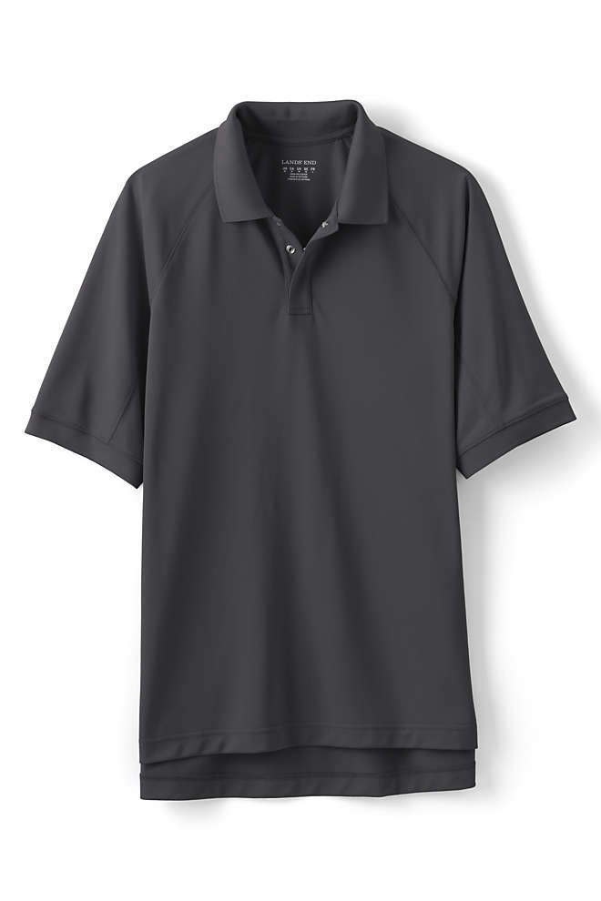 Men's Big Short Sleeve Workwear Polo Shirt, Front