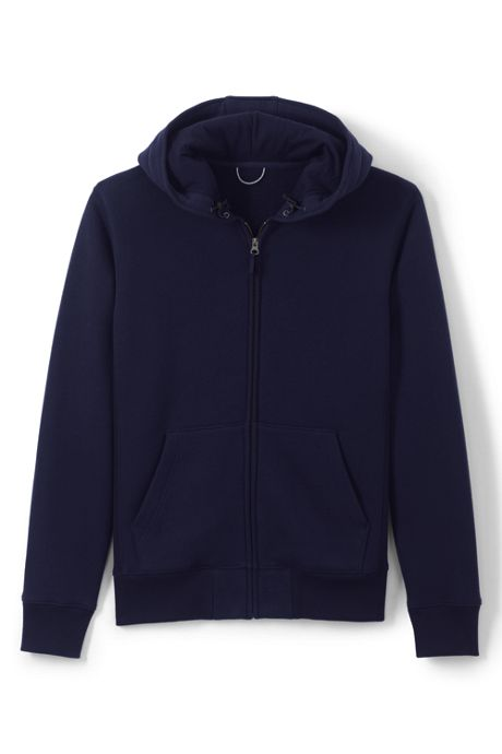 Unisex Workwear Full Zip Cotton Fleece Hoodie