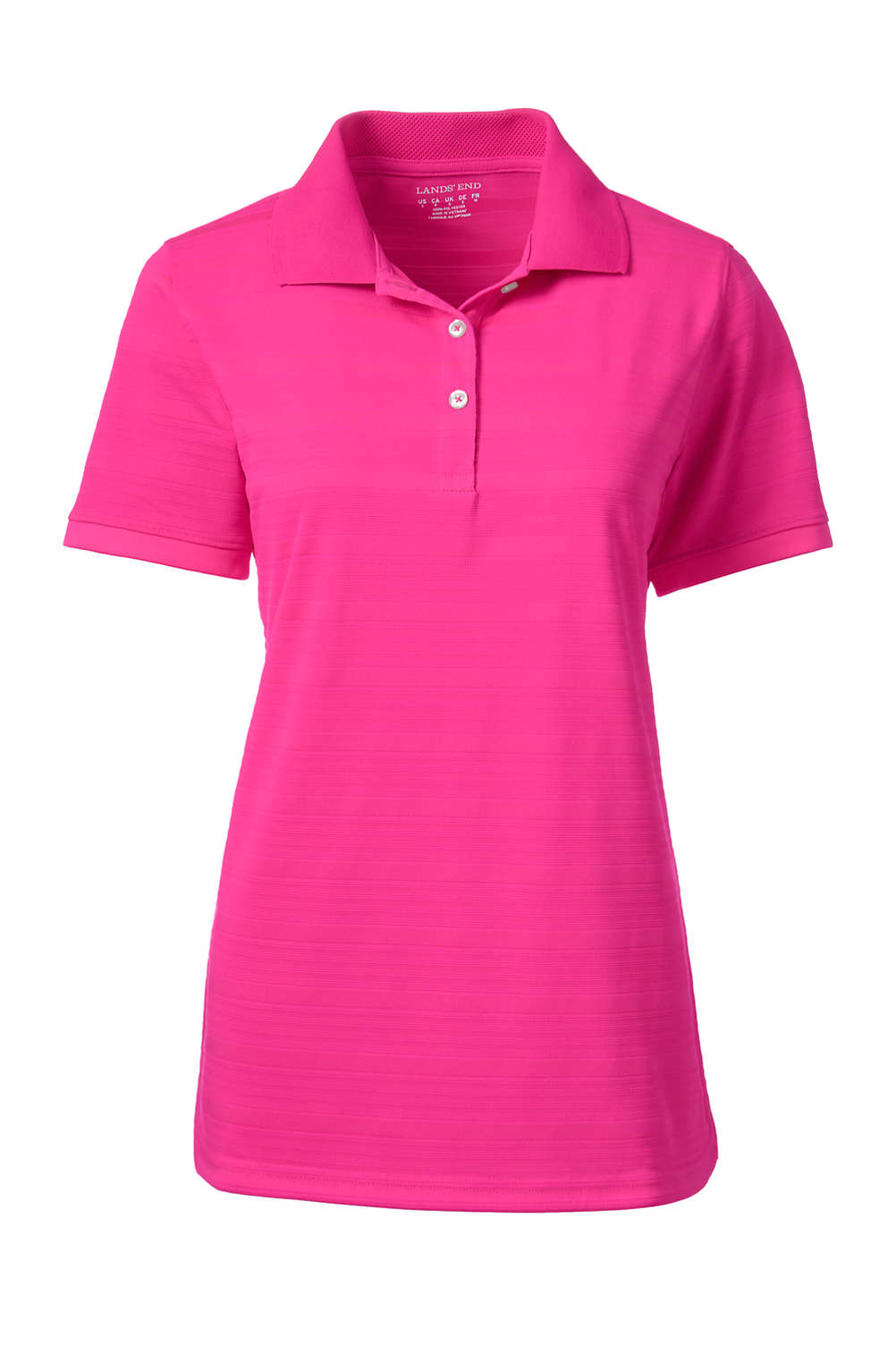 Womens Rapid Dri Drop Needle Polo Shirt From Lands End