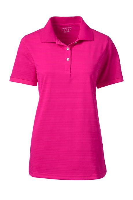 Women's Short Sleeve Rapid Dry Drop Needle Polo Shirt